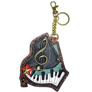 Piano - Key Fob/Coin Purse