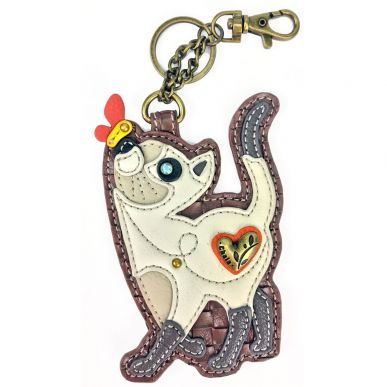 Slim Cat - Key Fob/Coin Purse