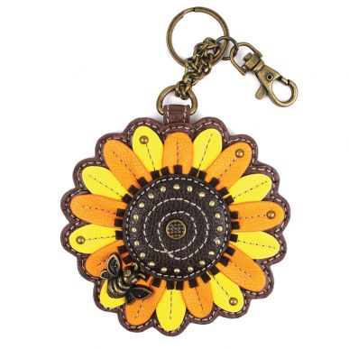 Sun Flower - Key Fob/Coin Purse