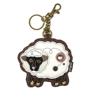 CoinPurse/KeyFob - Sheep