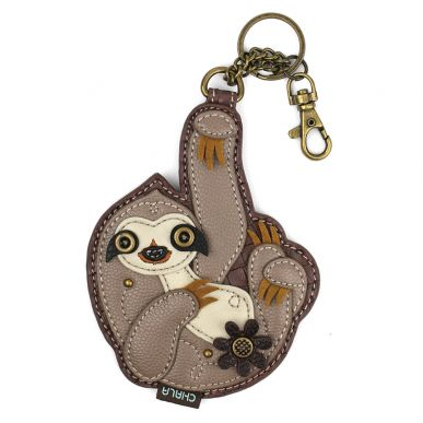 Sloth - Key Fob/Coin Purse