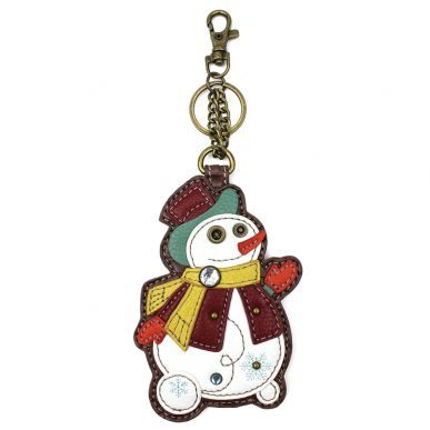 Snowman - Key Fob/Coin Purse