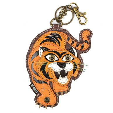 Tiger - Key Fob/Coin Purse