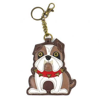 Bulldog - Key Fob/Coin Purse