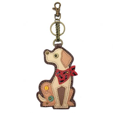 Yellow Lab - Key Fob