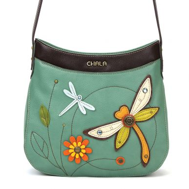 Dragonfly - Crescent Crossbody