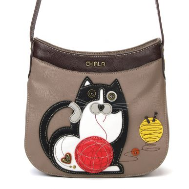 Fat Cat - Crescent Crossbody