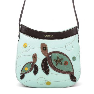 Two Turtles - Crescent Crossbody