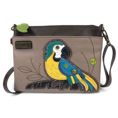 Blue Parrot - Mini Crossbody