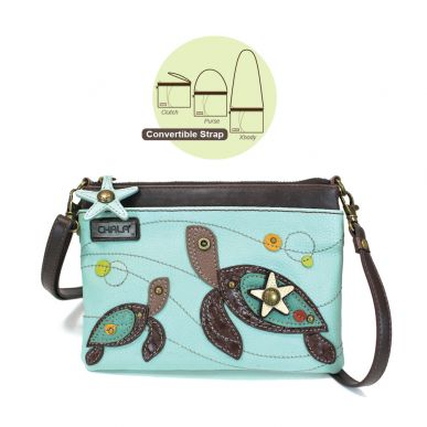 Two Turtles - Mini Crossbody
