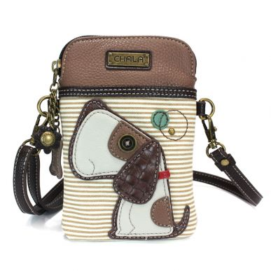 Toffy Dog - Cell Phone Xbody (Brown Stripe)