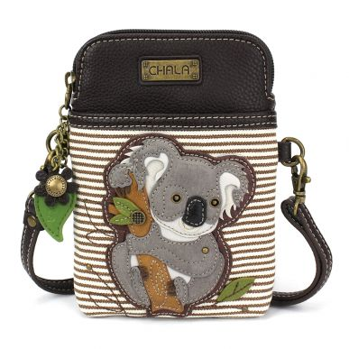 Cellphone Xbody - Koala - Brown Stripe