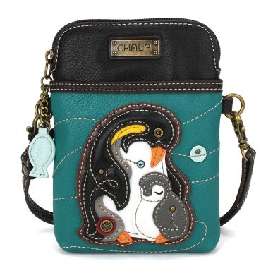 Penguin -Cell Phone Xbody - Turquoise