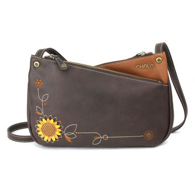 Criss Crossbody - Sunflower - Brown