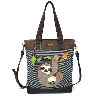 Sloth - Work Tote-BlueStripe