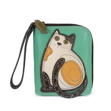 LaZzy Cat - Zip Around Wallet