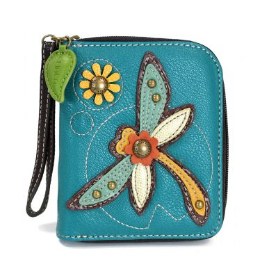Dragonfly - Zip Around Wallet