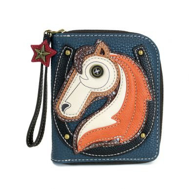 Horse - Zip Around Wallet