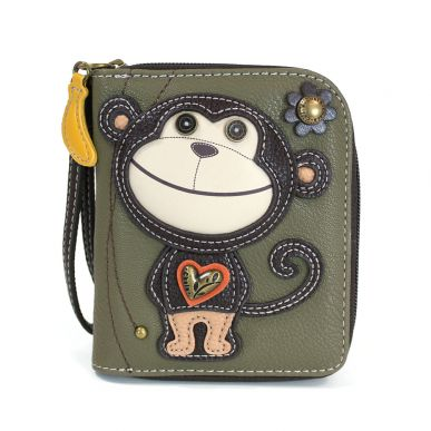 Monkey - Zip Around Wallet