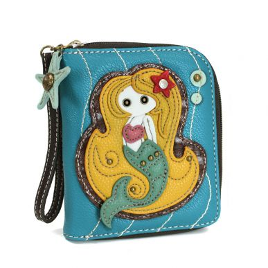 Mermaid - Zip Around Wallet
