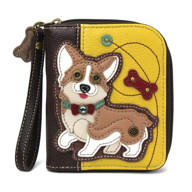 Corgi - Zip Around Wallet