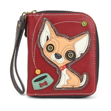 Chihuahua - Zip Around Wallet