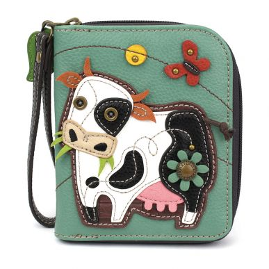 Cow - Zip Around Wallet