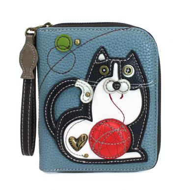 Fat Cat - Zip Around Wallet
