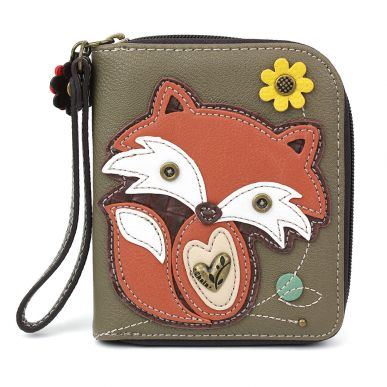 Fox - Zip Around Wallet