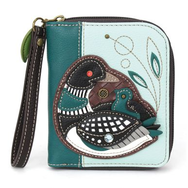 Zip-Around Wallet -LoonBird-Blue