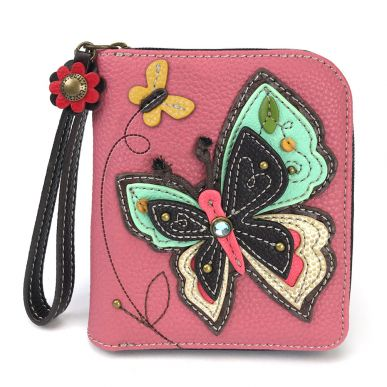 New Butterfly - Zip Around Wallet