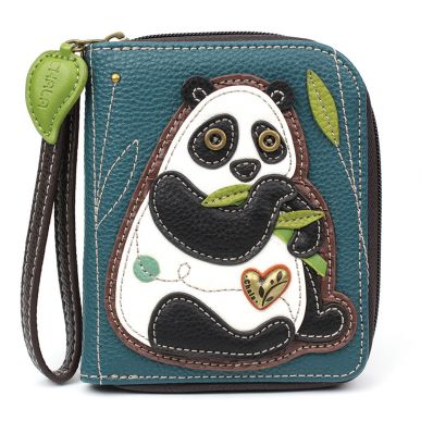 New Panda - Zip Around Wallet