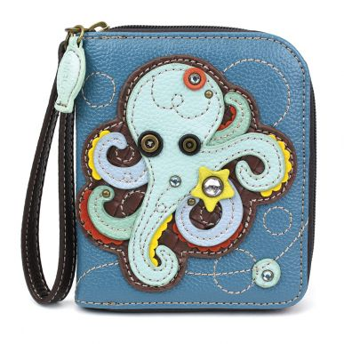 Octopus - Zip Around Wallet
