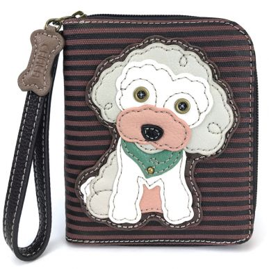 Poodle - Zip Around Wallet