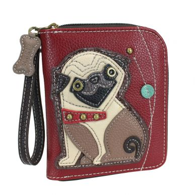 Pug - Zip Around Wallet