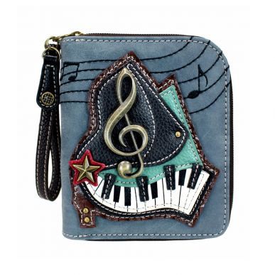 Piano - Zip Around Wallet