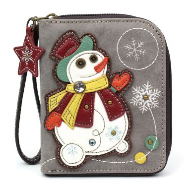 Snowman - Zip Around Wallet
