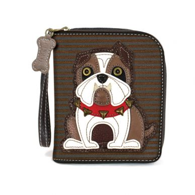 Bulldog - Zip Around Wallet