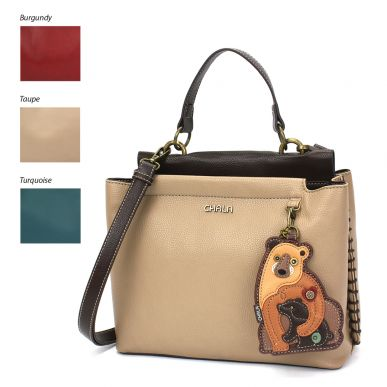 Charming Satchel - Two Bears