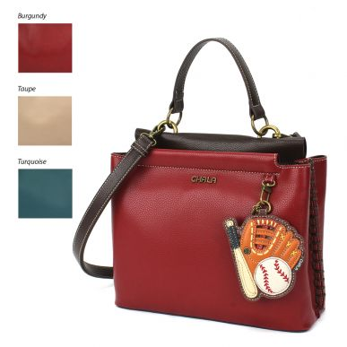 Charming Satchel - Baseball