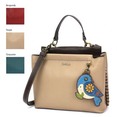 Charming Satchel - Blue Bird