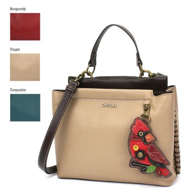 Charming Satchel - Cardinal