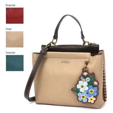 Charming Satchel - Forget Me Not