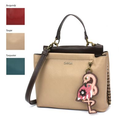 Charming Satchel - Flamingo