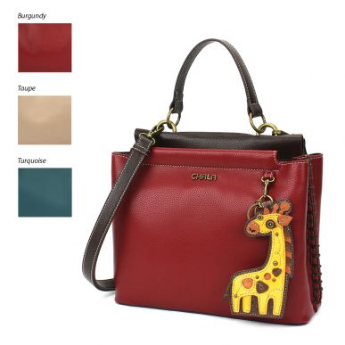 Charming Satchel - Giraffe