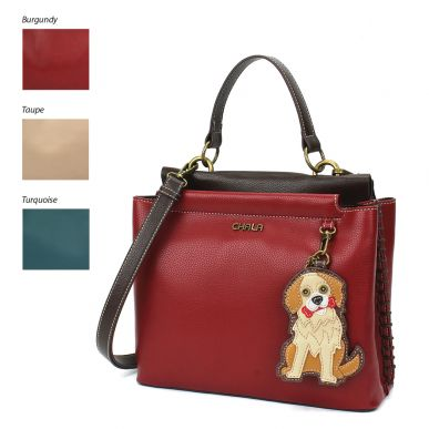 Charming Satchel - Golden Retriever