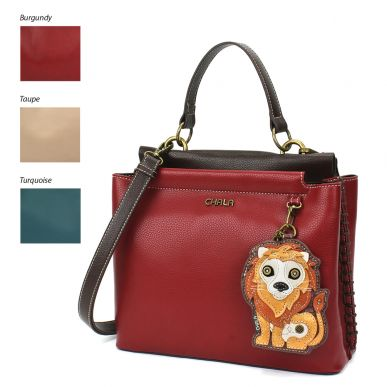 Charming Satchel - Lion