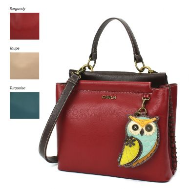 Charming Satchel - Owl A