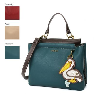 Charming Satchel - Pelican