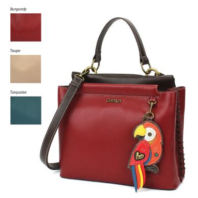 Charming Satchel - Parrot Red